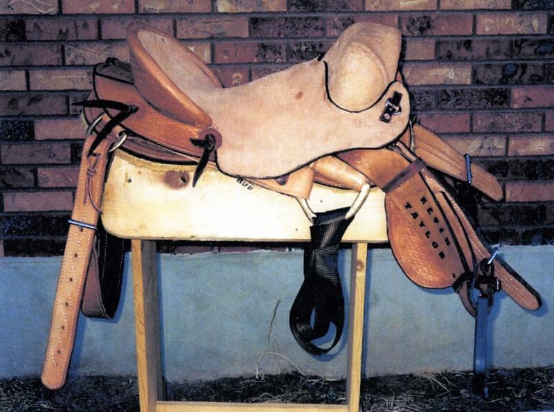 Association Bronc Saddle